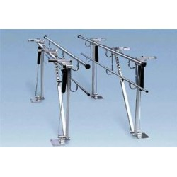 Bailey Adjustable Height and Width Parallel Bars