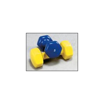 Bright Vinyl Coated Dumbbells