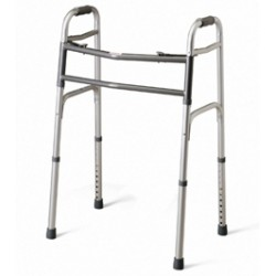 Deluxe Bariatric Two-Button Folding Walker