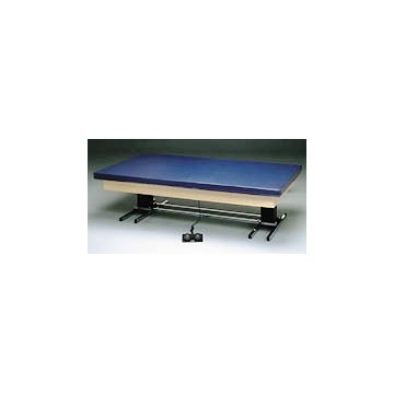 Hi-Lo Upholstered Mat Table