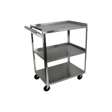 Ideal 3 Shelf Stainless Steel Utility Cart