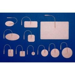 MedSource Tan Cloth Electrodes