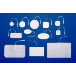 MedSource White Foam Electrodes