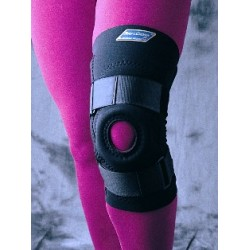 Patellar Knee Support with Tubular Donut Buttress