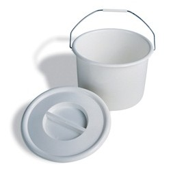 Universal Fit Commode Bucket