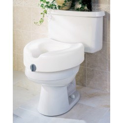 Locked Raised Toilet Seats